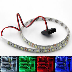 4PLed Strip Background Light 5050 12V waterproof ribbon for PC computer Flexible