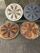 More details for huge victorian antique cast iron air vents (set of 4)