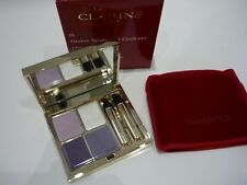 Clarins Wet & Dry Eye Quarlet Mineral Palette Long Lasting 05 Violet New & Boxed