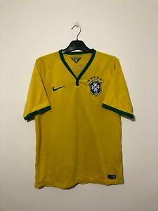 Brazil Home Football Shirt 2014/16 14 15 16 Large L
