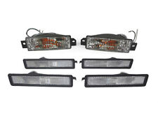 Depo 89-91 BMW E30 3 Series Clear Bumper Signal + Front/Rear Side Marker Lights