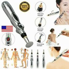 Electronic Acupuncture Pen Electric Meridian Body Massager Pain Relief Therapy ·