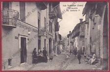 CUNEO VERNANTE 05 CAFFÈ RISTORANTE BILIARDO VAL VERMENAGNA Cartolina 1920