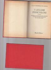 i legami pericolosi - p.a.f.choderlos de laclos - bur copertina rigida rossa