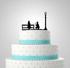La propuesta Wedding Cake Topper