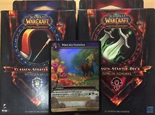 Loot Carte & 2 Starter WOW World of Warcraft jeu de cartes Hearthstone illustration
