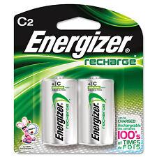 Energizer NiMH Rechargeable Batteries C 2 Batteries/Pack NH35BP2
