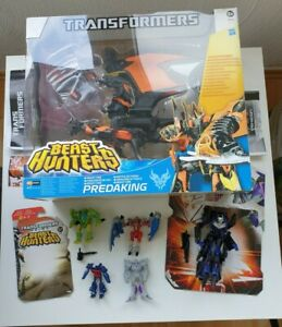 Transformers Prime Action Figuren Sammlung: Predaking, Vehicon, Optimus Prime...