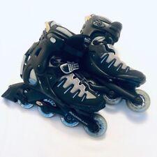 Rollerblade Womens Evo 07 Training Inline Skates Black Progressive Fit System 8
