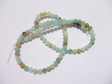 1filo/96pz perline pietre in Amazzonite  naturale 4mm  bijoux