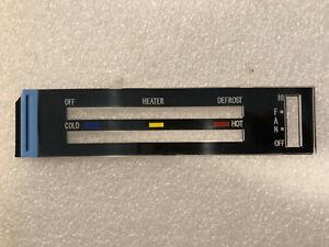 NEW 77-79 (80-81) Firebird NON-AC Heater Control LENS Trans Am Formula Climate