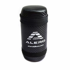 Alero PU 15cm Black Bicycle Cycling Tool Bottle Case – White