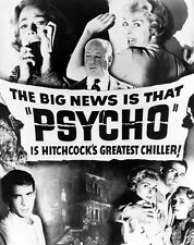 """PSYCHO"" (1960) Movie Poster [Licensed-NEW-USA] 27x40"" Theater Size (B&W Alt)"