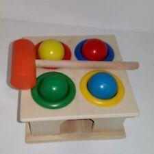 Montessori Toys Wooden Pounding Toy