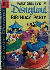 "DELL GIANT ""DISNEYLAND BIRTHDAY PARTY"" #1 GD/VG 3.0 DELL 1958"