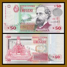 Uruguay 50 Pesos, 2008 P-87a Unc