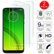 For Motorola Moto G7 Power - Clear HD Tempered Glass Screen Protector [2-Pack]