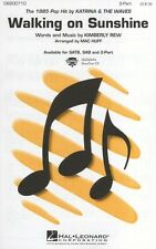 KATRINA & THE WAVES: Walking on Sunshine 2-Part Chorale Partitions Vocal Score