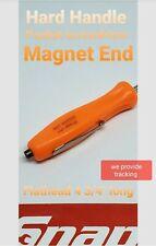 Snap on tools 1 screwdriver per order  orange pocket screwdriver .magnet ends