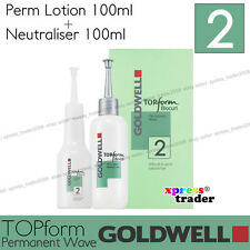 """Goldwell Topform Biocurl Permanent Lotion """"Type 2"""" For porous, colored hair"""