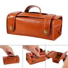 Mens Travel Toiletries Cosmetic Bag leather Shaving Wash Toiletry Case Organizer