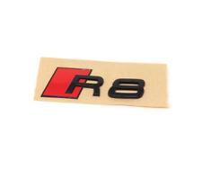Genuine Audi Rear Gloss Black R8 Badge