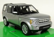 Nex Models 1/24 Scale - Land Rover Discovery 4 TDV6 HSE Silver Diecast model car