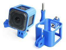 Ultra Light Frame + Tripod Mount f. GoPro HERO 5 Session Rahmen Stativ Blue