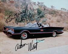 BURT WARD ADAM WEST #2 REPRINT AUTOGRAPHED 8X10 SIGNED PHOTO BATMAN ROBIN RP