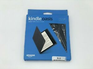 Amazon Kindle Oasis Water-Safe Fabric Cover (9th & 10th Gen Only) - Charcoal BLK