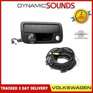 Connects2 CAM-VW6 - Tailgate Handle Reversing Camera for Volkswagen Amarok 2010>