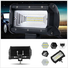 "One Pair Waterproof 5"" LED White Car Truck Van Working Lights Bar DRL Flood Lamp"
