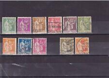 France 1932-37, type Paix entre n° YT 280 et 289, + 298 & 359, cote env 5,5 €