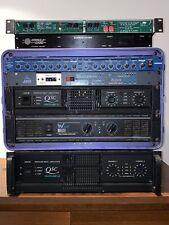 QSC PowerlIght 1.8 PA Power Amplifier lightweight 1800W RMS class H amp
