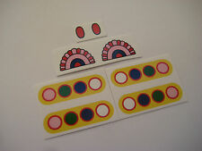 Corgi 803 The Beatles Yellow Submarine Stickers - B2G1F
