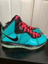Nike Lebron 8 VIII South Beach Preheat Sz 10