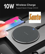 Santo 10W Fast Wireless Charger For iPhone 11 X XS MAX XR Quick Charge 3.0