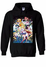 Sailor Moon Crystal Planets Girls Hoodie Sweatshirt Jumper Men Women Unisex 412