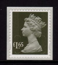 GB 2011 Machin Definitive SA £1.65 yellow-olive SG U2950 M11L MNH
