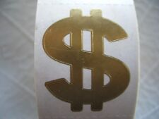 100 GOLD $$$$ tanning stickers.tattoos,scrapbook,crafts,spray tans