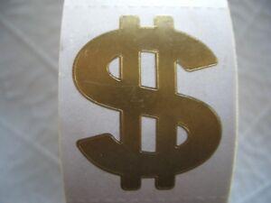 100 GOLD $$$$ tanning stickers.tattoos,scrapbook,crafts,spray tans