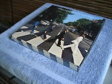 2009 BEATLES ABBEY ROAD DELUXE BOX SET W/ SHIRT LP & POSTER SEALED MINT $195