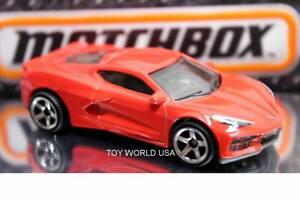 2021 Matchbox #40 2020 Corvette C8 Red