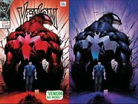 VENOM #1 PORTACIO 2 PACK VARIANT SET MARVEL COMICS AMAZING SPIDER-MAN #50 HOMAGE