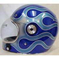 Bell Bullitt SE Street Cruiser Motorcycle Helmet Chemical Candy Blue XLarge