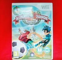 ACADEMY OF CHAMPIONS - FOOTBALL - ( NINTENDO Wii ) - INCLUDES MANUAL - PAL - VGC