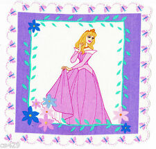 "8"" DISNEY PRINCESS AURORA  CHARACTER FABRIC APPLIQUE IRON ON"