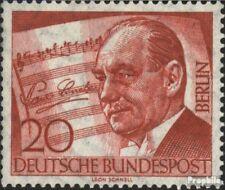 Berlijn (West) 156 Componist van Berlijn Air gestempeld 1956 10. Dood van Paul L