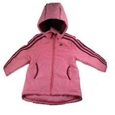 Inverno giacca imbottita rosa per bambine dai 2 ai 16 anni