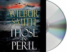 Those in Peril by Wilbur Smith (2011, CD, Unabridged) New Sealed Box